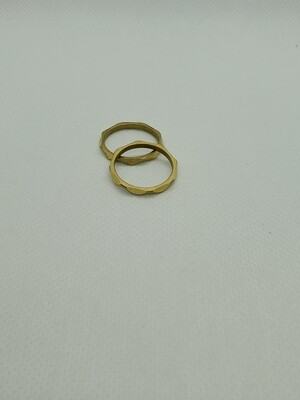 Kestly Ring-faceted size 8
