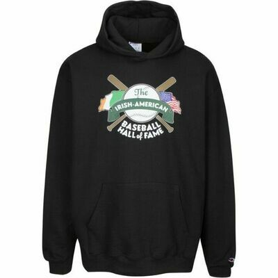 Irish American Baseball Hall of Fame Hooded Sweatshirt by Champion