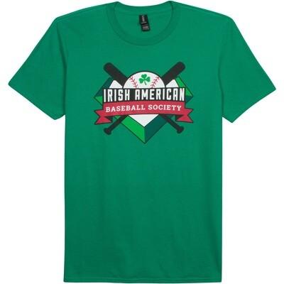 Irish American Baseball Society Kelly Green T-shirt