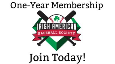 Irish American Baseball Society One-Year Membership