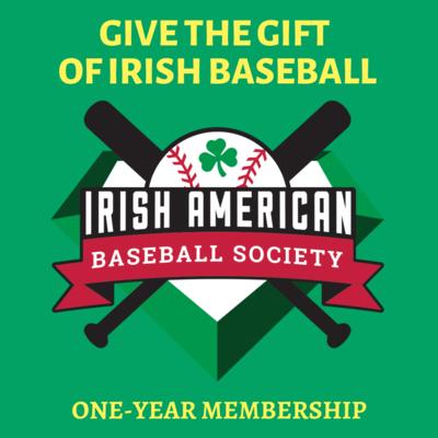 Gift: Irish American Baseball Society One-Year Membership