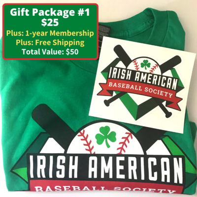 Gift Package #1: T-shirt, Sticker, and Free Membership