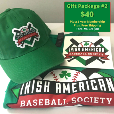 Gift Package #2: T-shirt, Cap, Sticker, and Free Membership