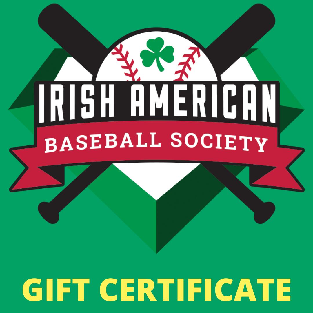 Irish Baseball Gear Gift Card