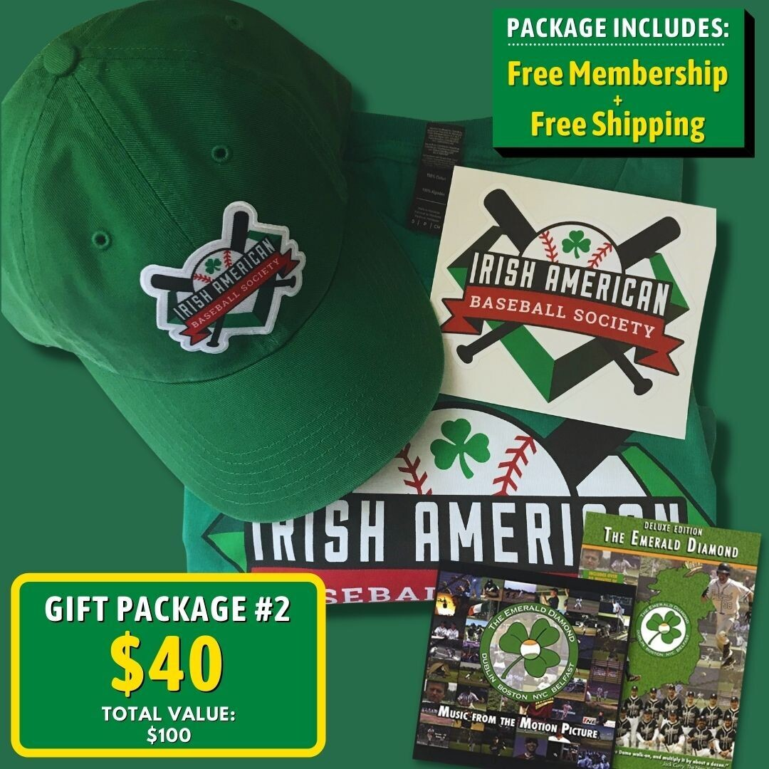 Gift Package #2: T-shirt, Cap, Sticker, DVD/CD, and Free Membership