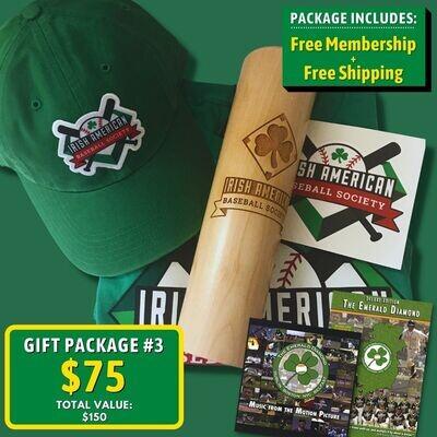 Gift Package #3: T-shirt, Cap, Mug, Sticker, DVD/CD, and Free Membership