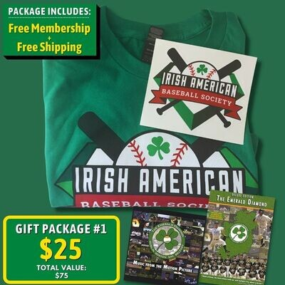 Gift Package #1: T-shirt, Sticker, DVD/CD, and Free Membership