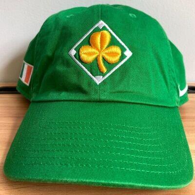 PRE-ORDER: Nike Heritage 86 Green Adjustable Cap with Shamrock and Irish Flag