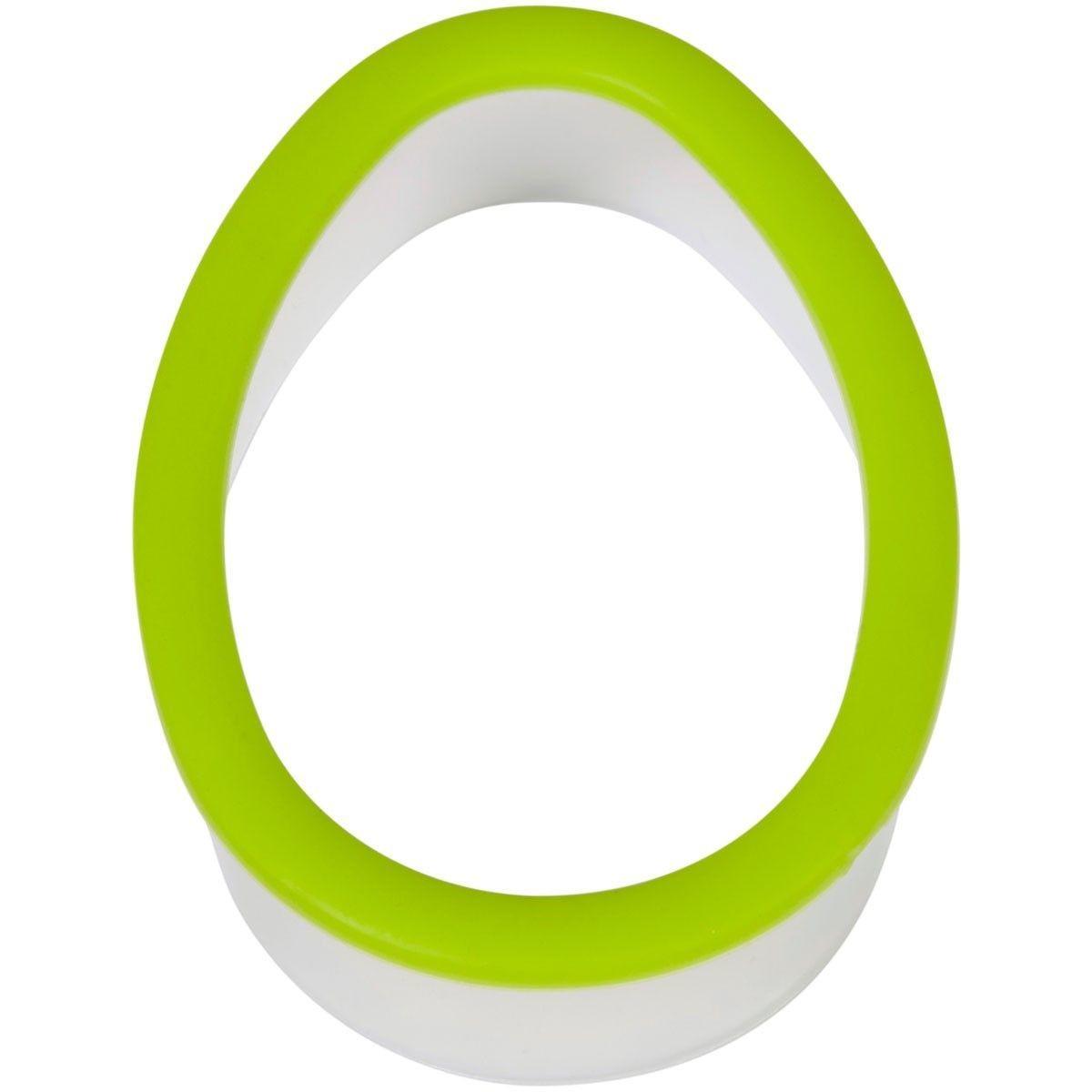 Wilton Easter Plastic Grippy Cutter -EGG - Πλαστικό Κουπ πατ Αυγό με λαβή σιλικόνης -9.5εκ