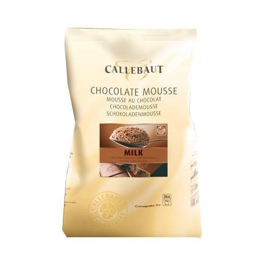 Callebaut Chocolate MOUSSE -MILK CHOCOLATE 800g -Μους Σοκολάτας Γάλακτος