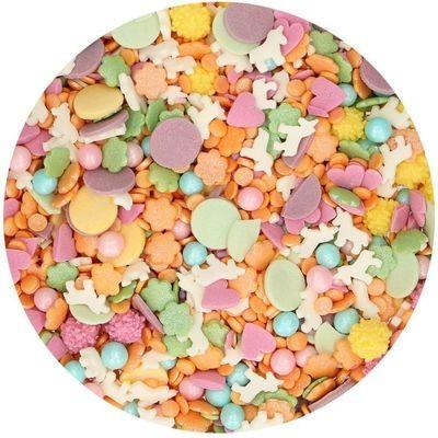 FunCakes Sprinkle Mix 180γρ -UNICORN MEDLEY -Μείγμα Ζαχαρωτών - Μονόκερος
