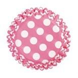 SALE!!! Cake Star Cupcake Cases -POLKA DOTS -CERISE - Θήκες Ψησίματος - Πουά Κερασί 54 τεμ