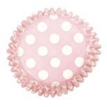 SALE!!! Culpitt BULK Cupcake Cases -Polka Dots PINK SPOTS -Θήκες Ψησίματος -Ροζ Πουά 504 τμχ