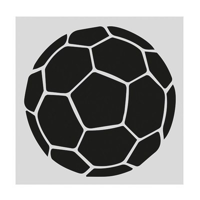 SALE!!! Cake Star Stencil -FOOTBALL -Στένσιλ Μπάλα ποδοσφαίρου