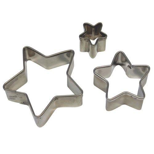PME Geometric Basics -Set of 3 -STAR Cutters -Σετ 3τεμ κουπ πατ Βασική Σειρά Αστέρια