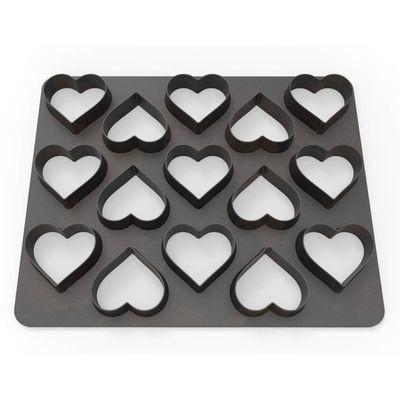 Dekofee Polycutter -HEARTS - Κουπ πατ πολλαπλές Καρδιές