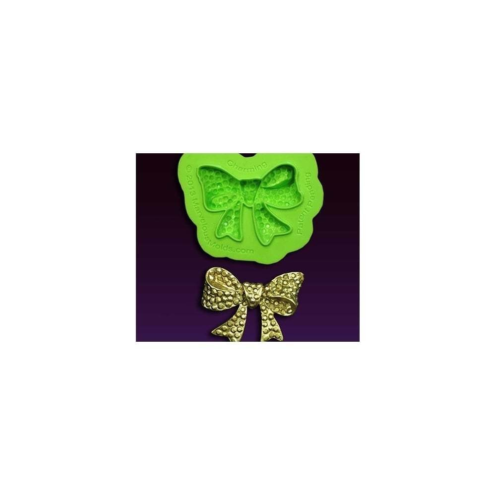 SALE!!! Marvelous Molds Silicone Mould By Marina Sousa -CHARMING BOW BROOCH -Καλούπι Σιλικόνης Φιόγκος Καρφίτσα