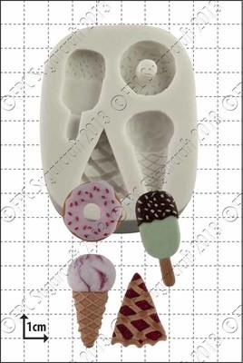 FPC Silicone Mould -SWEET TREATS - Καλούπι Σιλικόνης Γλυκίσματα