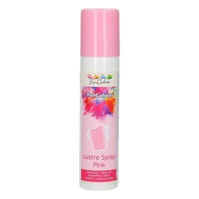 FunCakes Edible Spray -METALLIC PINK 100ml - Σπρέι Μεταλλικό Ροζ