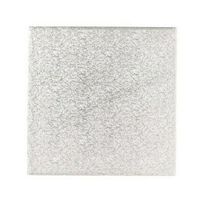 "Cake Card EXTRA THIN SQUARE Cut Edge (12"") 30cm -Πολύ Λεπτός Τετράγωνος Δίσκος Χωρίς Πλαίσιο 30εκ"