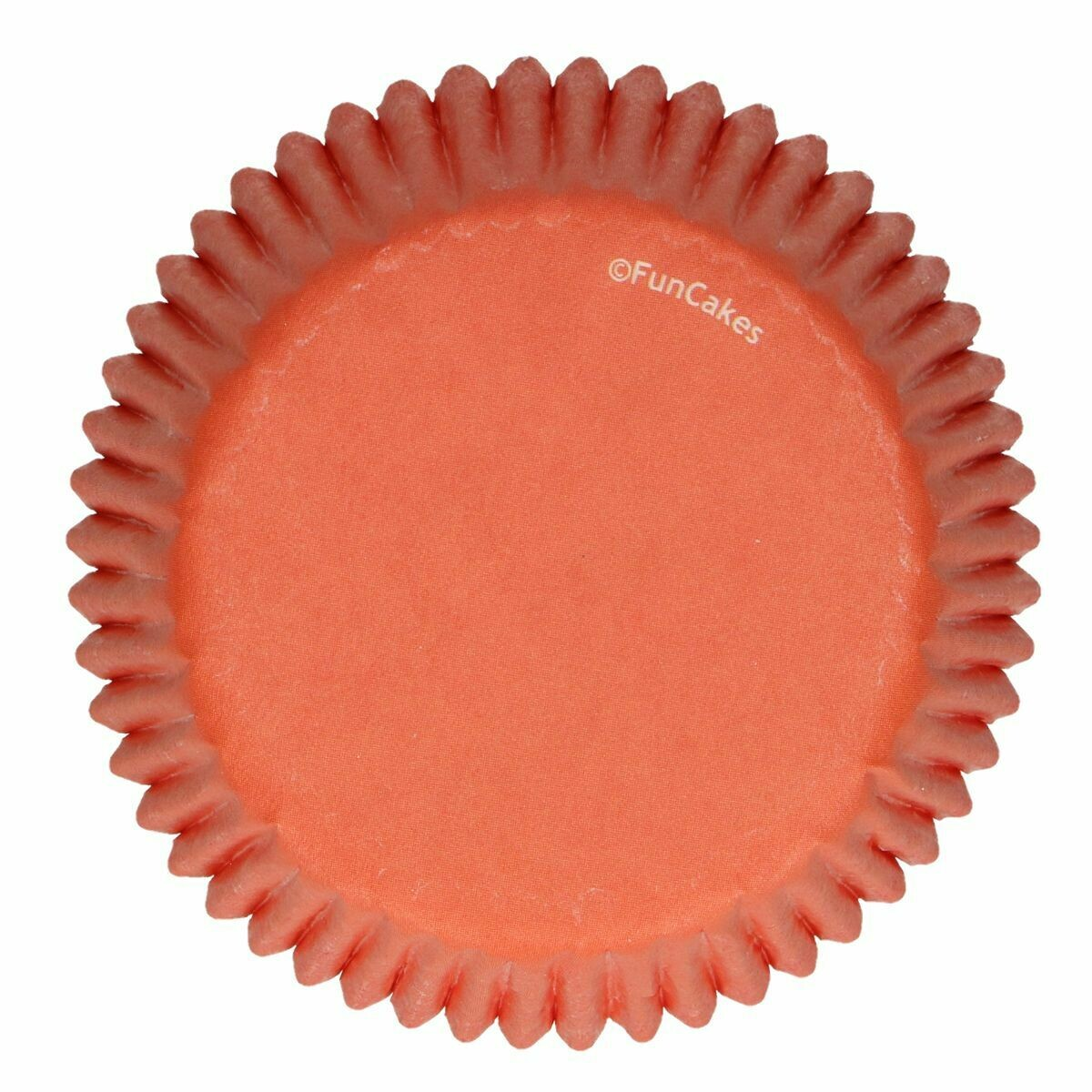 SALE!!! FunCakes Cupcake Cases -ORANGE -Θήκες Ψησίματος Πορτοκαλί 48 τεμ