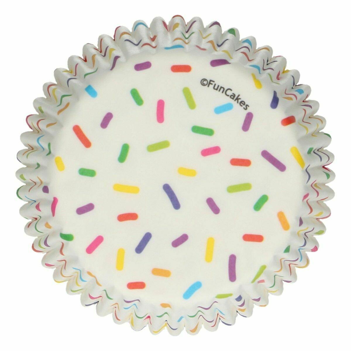 FunCakes Cupcake Cases -SPRINKLES -Θήκες Ψησίματος 48 τεμ