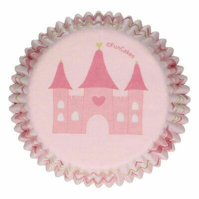 SALE!!! FunCakes Cupcake Cases -PRINCESS -Θήκες Ψησίματος 48 τεμ