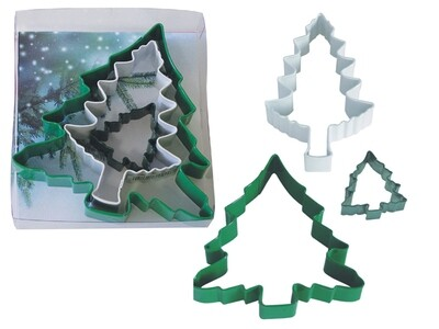 SALE!!! By AH -Set of 3 Cookie Cutters -CHRISTMAS TREES -Σετ 3 Κουπ πατ Χριστουγεννιάτικο Δέντρο