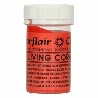 Sugarflair Paste Colours -LIVING CORAL -Χρώμα σε Πάστα -Ζωντανά κοράλλια
