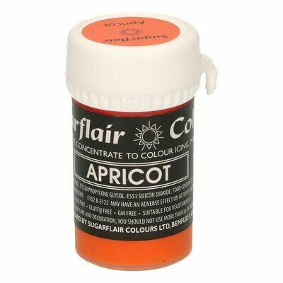 SALE!!! Sugarflair Paste Colours -PASTEL APRICOT -Χρώμα σε Πάστα -Παστέλ Βερικοκί