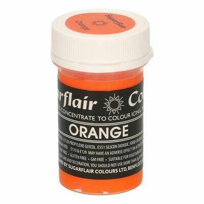 Sugarflair Paste Colours -PASTEL ORANGE -Χρώμα σε Πάστα -Παστέλ Πορτοκαλί