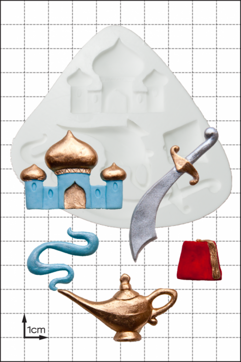 FPC Silicone Mould -Aladdin -Καλούπι Σιλικόνης Αλαντίν