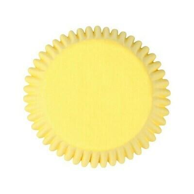 Cake Star Cupcake Cases -PLAIN YELLOW - Θήκες Ψησίματος - Κίτρινες 50 τεμ