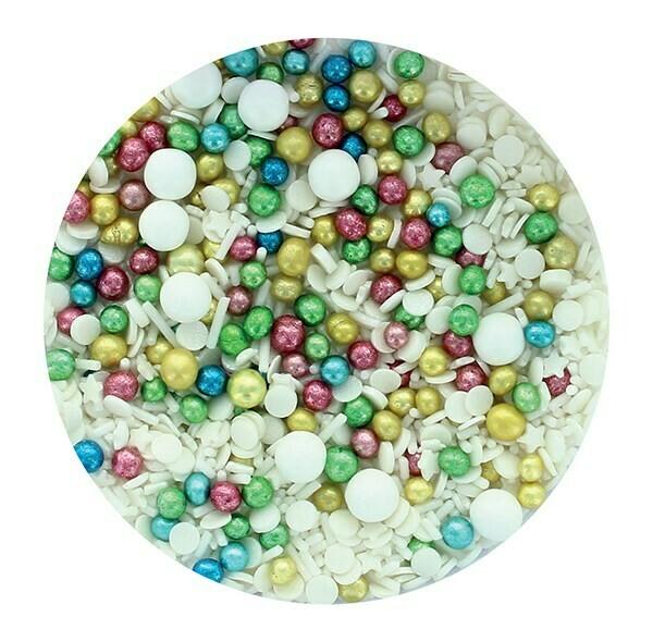 Purple Cupcakes Sprinkle Mix -VINTAGE MIX -100γρ Μείγμα Ζαχαρωτών Εποχής