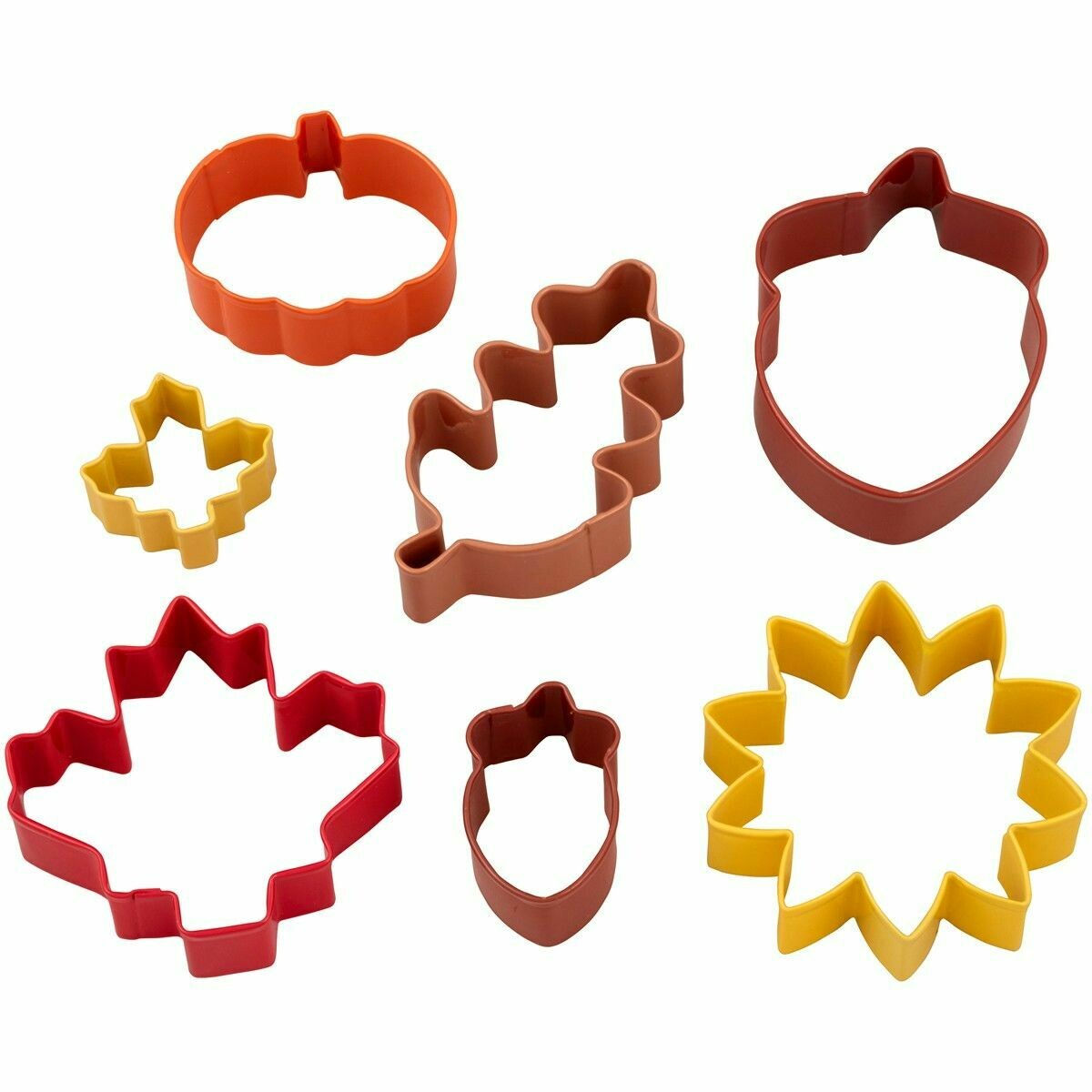 Wilton Cookie Cutter Set of 7 -AUTUMN - Σετ 7τεμ Κουπ πατ με φθινοπωρινό θέμα