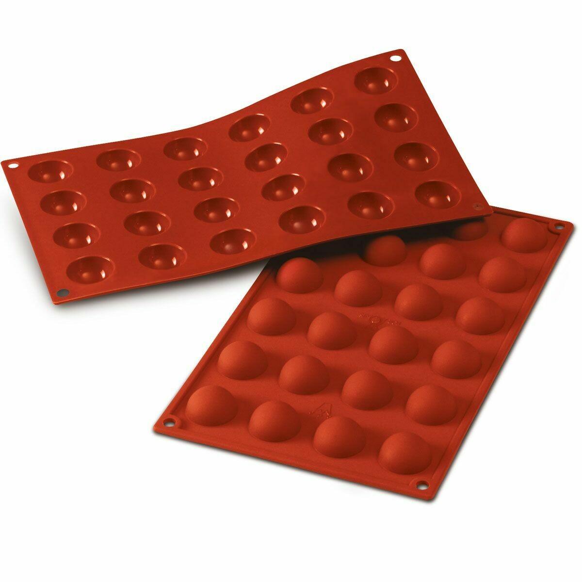 Silikomart -Semisphere Mould -SMALL -Καλούπι Ημισφαίριο Μικρό-3εκ