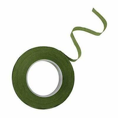 PME Floral Tape -DARK GREEN 12mm -Κολλητική Ταινία Λουλουδιών -Σκούρο Πράσινο
