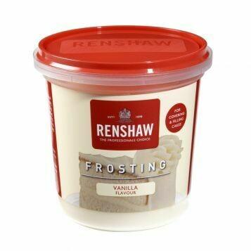 Renshaw Pro Ready-To-Use Frosting Vanilla -400g Έτοιμο frosting με γεύση Βανίλια