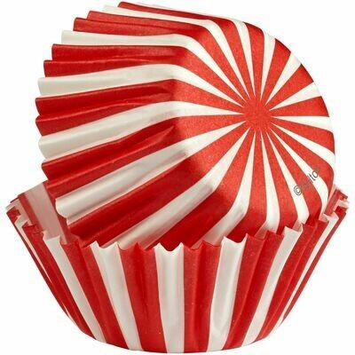 Wilton Christmas Cupcake Cases -MINI -NORTH POLE -Μίνι Θήκες ψησίματος Καπκέικ/Μάφιν 100τμχ