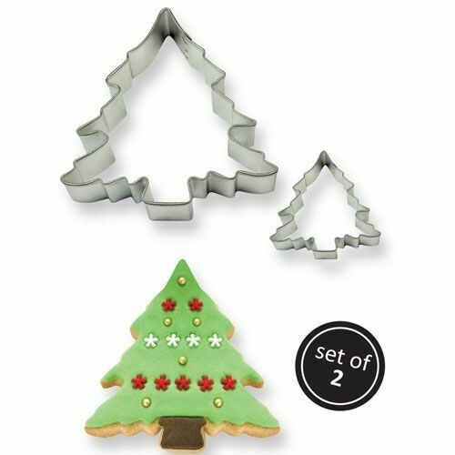 PME Cookie Cutters -Set of 2 -TREES -Σετ 2τεμ Κουπ πατ Χριστουγεννιάτικα Δέντρα