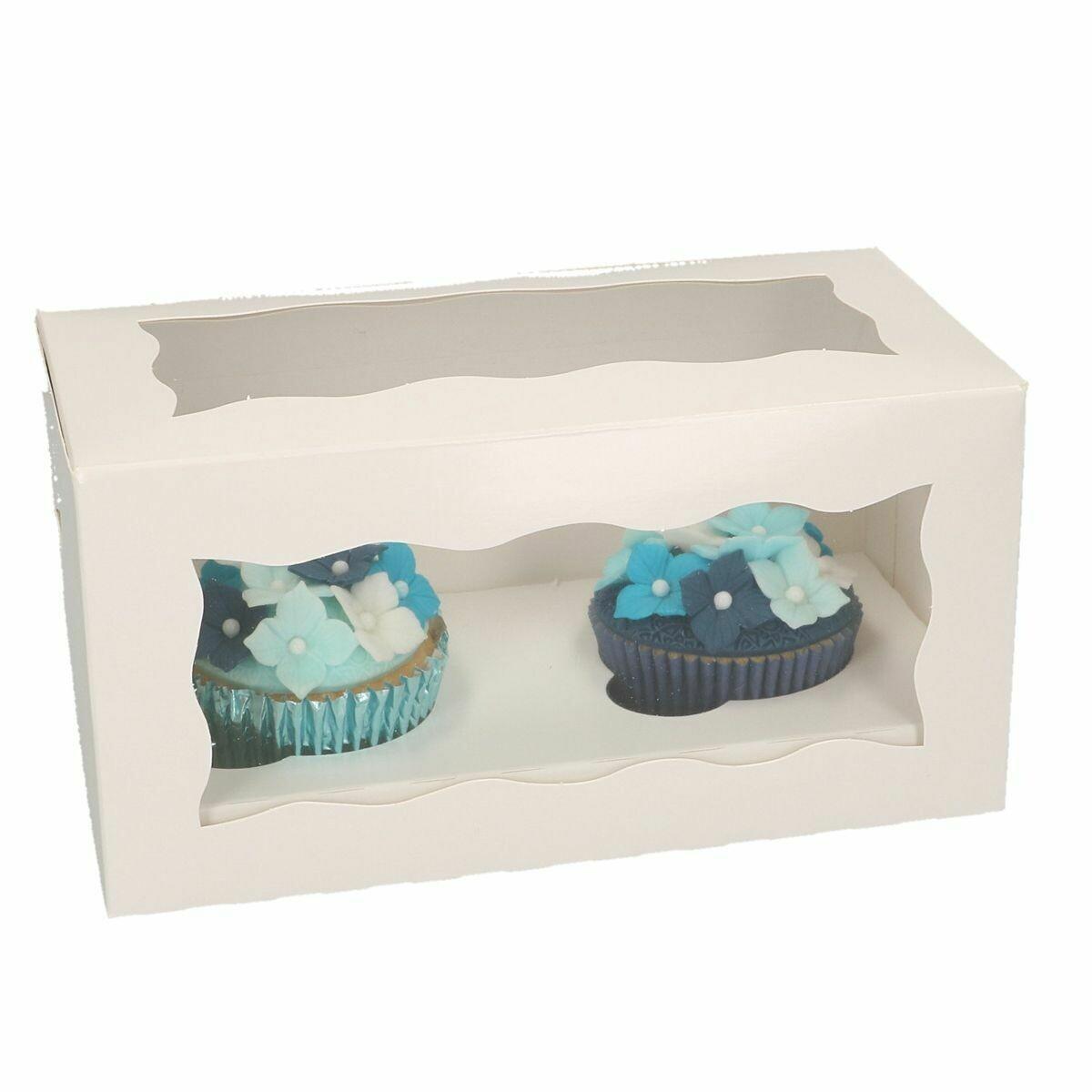 Box for 2 Cupcake/Muffin -Κουτί για 2 Καπκέϊκ/Μάφιν