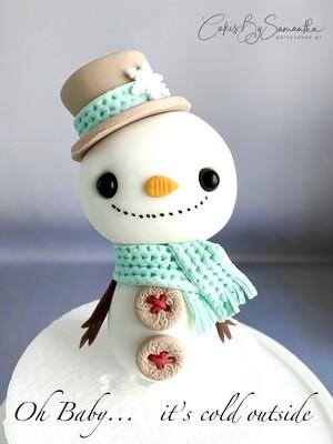 Χιονάνθρωπος από την Σαμάνθα - ΜΟΝΟ ΓΙΑ ΠΑΡΑΛΑΒΗ ΑΠΟ ΤΟ ΚΑΤΑΣΤΗΜΑ