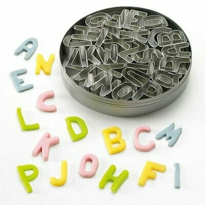 Patisse Cookie Cutters -ALPHABET SET - Σετ 26τεμ Κουπ πατ Λατινικό Αλφάβητο Κεφαλαία Γράμματα