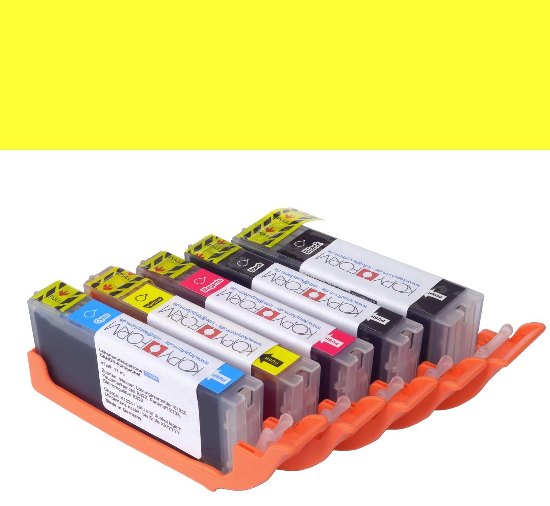 Edible Ink Cartridge -YELLOW for CANON TS705, -Βρώσιμο Μελάνι Κίτρινο
