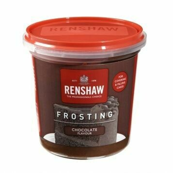 Renshaw Pro Ready-To-Use Frosting -CHOCOLATE -400g Έτοιμο frosting με γεύση σοκολάτα