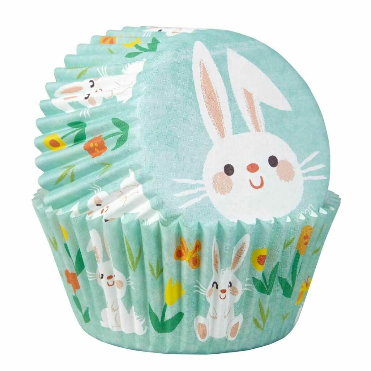 Wilton Easter Cupcake Cases -EASTER BUNNY - Θήκες ψησίματος με πασχαλινό θέμα 75 τεμ