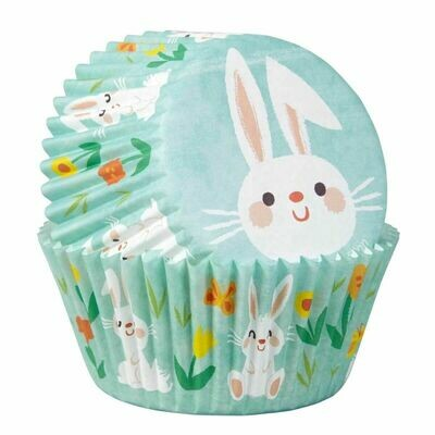 Wilton Easter Cupcake Cases -EASTER BUNNY - Θήκες ψησίματος Καπκέικ/Μάφιν με πασχαλινό θέμα 75 τεμ ∞
