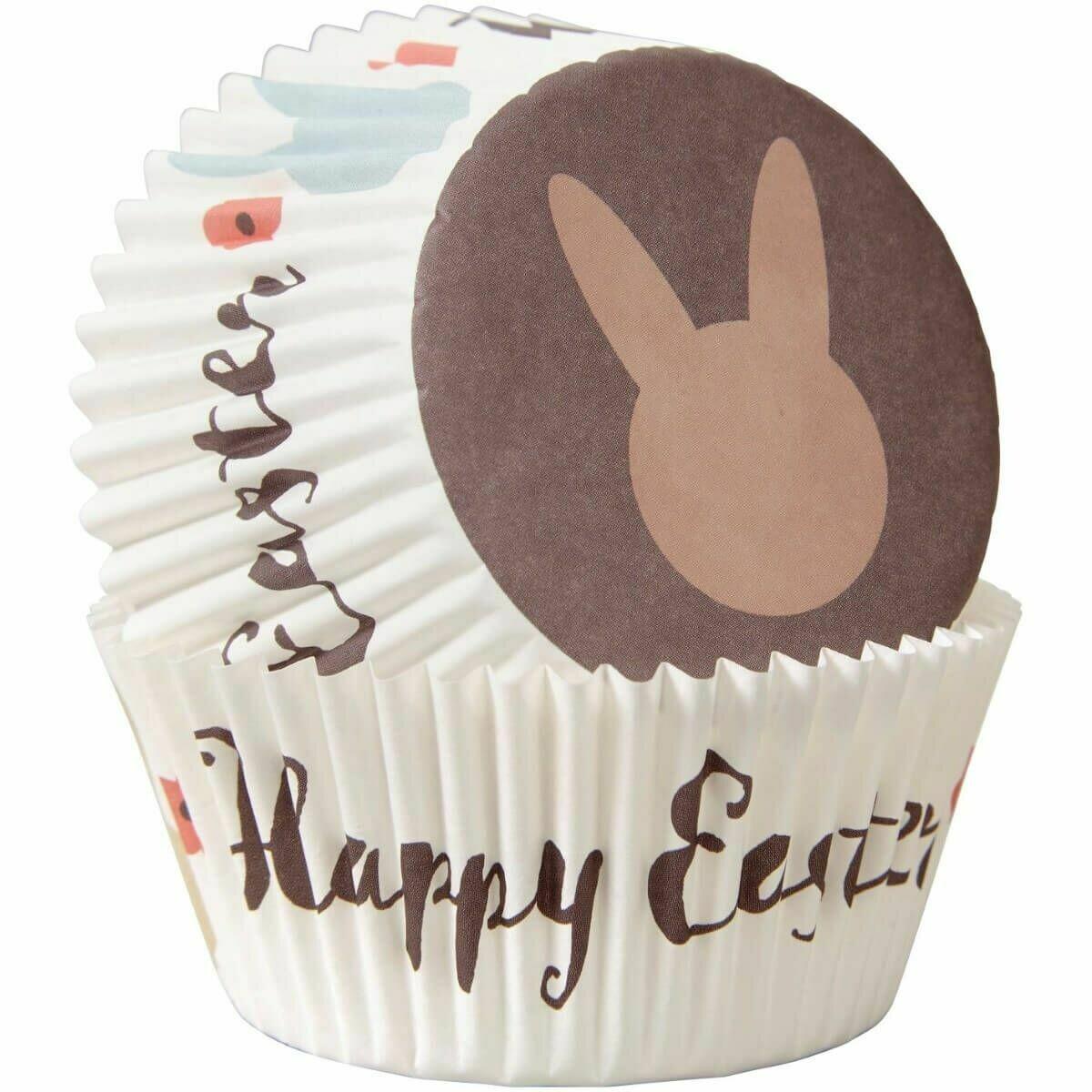 SALE!!! Wilton Easter Cupcake Cases -HAPPY EASTER - Θήκες ψησίματος Καπκέικ/Μάφιν Καλό Πάσχα 75 τεμ