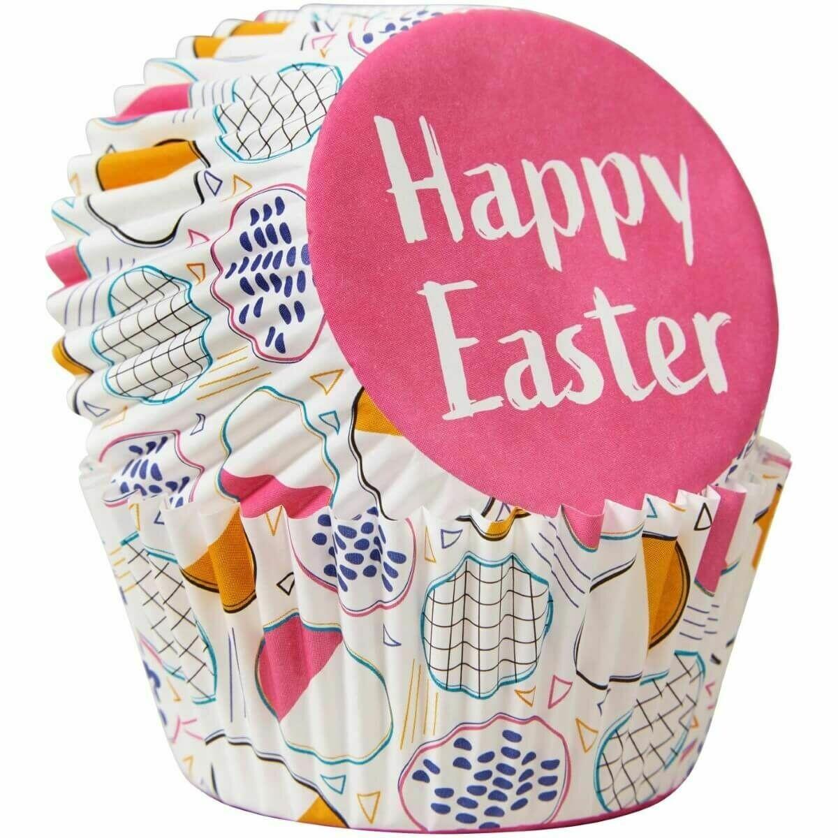 Wilton Easter Cupcake Cases -HIP HOP - Θήκες ψησίματος  με πασχαλινό θέμα 75 τεμ