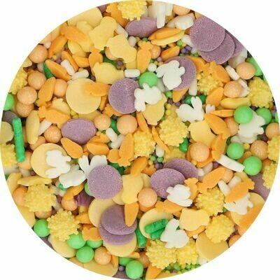 FunCakes Sprinkle Mix 65γρ -HAPPY EASTER MEDLEY - Μείγμα Ζαχαρωτών - Χαρούμενο Πάσχα